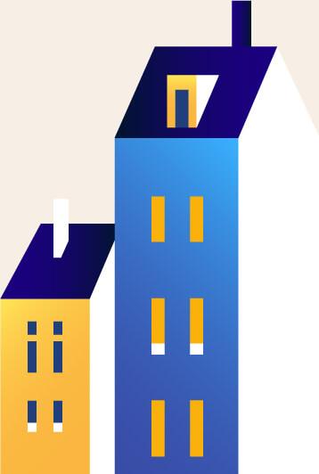 Bloc appartement condos